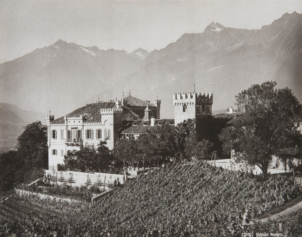Schloss Rametz in Obermais/Meran