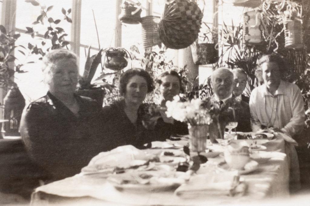Festeggiamenti a Villa Freischütz (ca. 1930)
