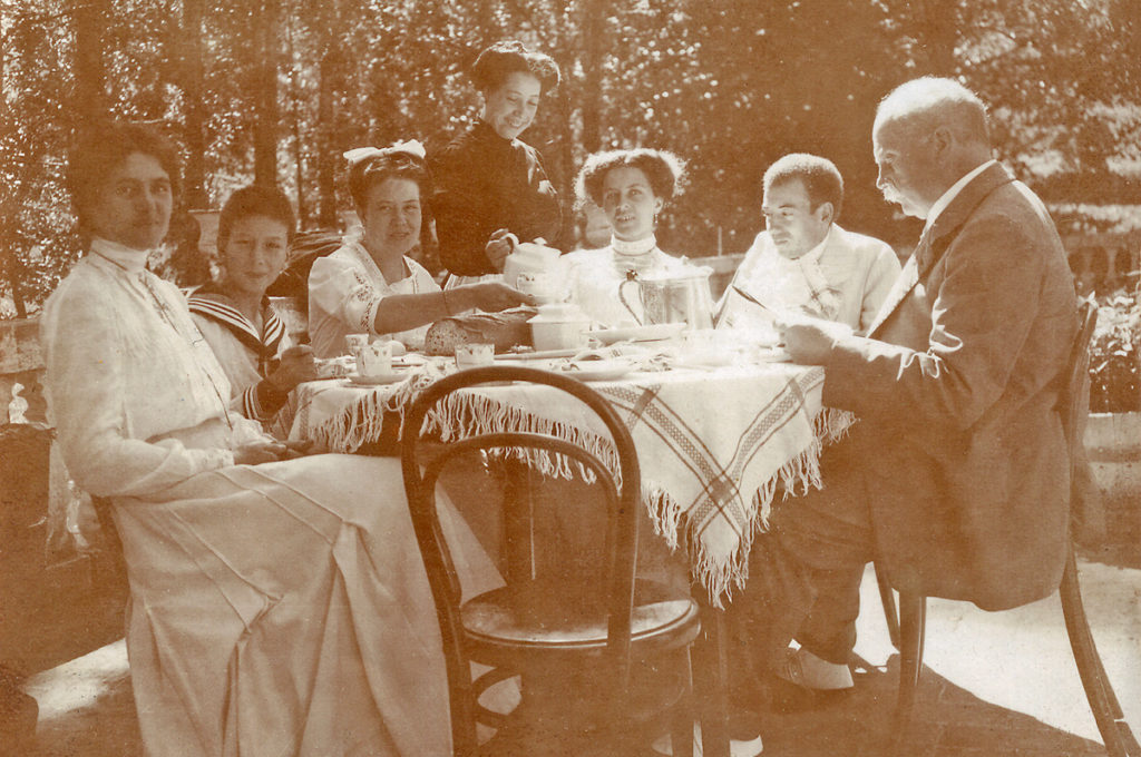In villeggiatura a Camprodon (ca. 1910)