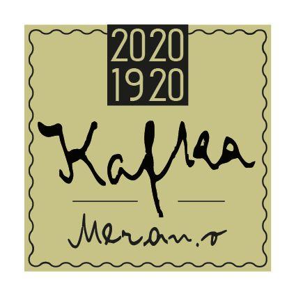 """Logo des Kafka-Gedenkjahres """"2020/1920: Kafka: Meran.o"""""""